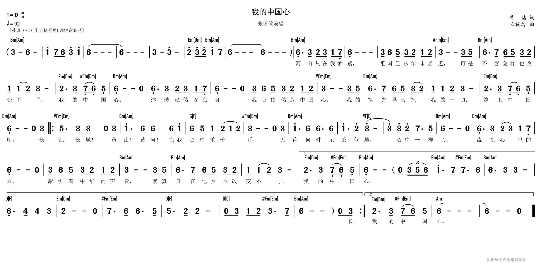 张明敏我的中国心_0